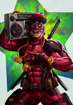 Hip Hop Deadpool - Sadece Kaan