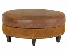 Our Products - Palermo Small Oval Ottoman