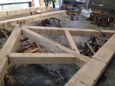Built this Victorian Truss and Roof (Norton Timber design)