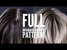 Blonde Foils, Hair Foils, Medium Blonde Hair, Icy Blonde, Foil Highlights, Colored Highlights, Balayage Hair Tutorial, Hair Color Formulas, Hair Color Techniques