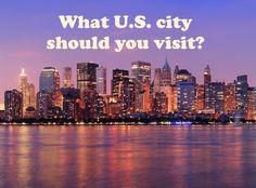 Travel quiz: What U.S. city should you visit?