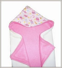 Abby's Reversible Hooded Baby Blanket (Free Sewing Pattern)