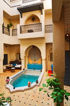 Intimate riad in the Heart of Marrakech Morocco. Magical riad papillon