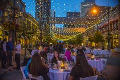 Photo of Larimer Square in Denver | The winners for Best Al Fresco Dining Neighborhood are in! Click to see the winners for Best Al Fresco Dining Neighborhood , chosen by the readers of 10Best and USA TODAY.
