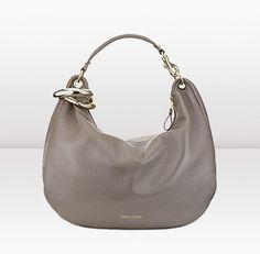 Jimmy Choo   Solar L   Pearlised Metallic Deerskin Shoulder Bag   JIMMYCHOO.COM