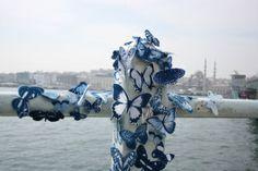 Borboletas azuis colorem as ruas de todo o mundo! http://shareforthefuture.wordpress.com/2014/04/16/borboletas-azuis-colorem-as-ruas-do-mundo/