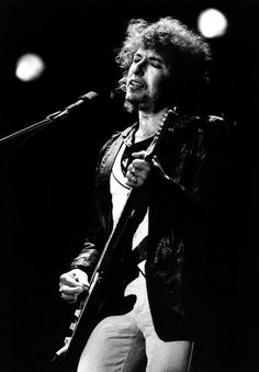 Bob Dylan performs live on stage at the Feijenoord Stadion Rotterdam Holland during his 'Still On The Road' World Tour