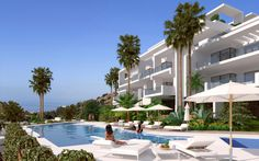 Contemporary apartment for sale off plan in Ojen - Marbella