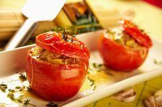 receta Tomates rellenos al horno