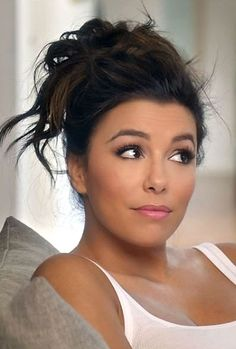 Putting An Organic Spin On Eva Longoria's Favorite Beauty Products. Get her look with these homemade makeup recipes for more natural and less damaging beauty solutions.