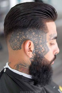 An undercut fade is a surefire way to bring both short and long mens hair styles to the whole new level of boldness. Check out these trendy ideas, which include a disconnected pompadour, a curly undercut and many other cool male hairstyles. #menshaircuts #menshairstyles #undercut #fade #undercutfade #undercutvsfade Tapered Undercut, Curly Undercut, Undercut Men, Male Hairstyles, Undercut Hairstyles, Haircuts For Men, Beard Fade, Undercut Designs, Disconnected Undercut