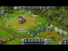 Jurassic Park Builder - gameplay - Jurassic Park Builder is a cross-platform social game, dinosaur-themed park builder game, simulation and management game, free to play on Facebook and mobile devices - Android and iOS (iPhone, iPad, iPod), from Ludia.
