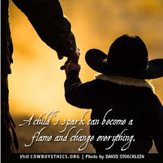 Cowboys, Cowgirls, Child's Spark, www.cowboyethics.org