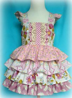 Ruffle Me Pretty Dress Tiered Ruffle - click to see more adorable fashion! 💕