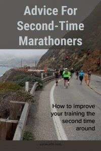Deciding to train for a second marathon is a big decision. You know better what to expect, but that can be both a good and a bad thing. On the blog advice on how to adjust your training for your second marathon. #running #marathon #marathontraining