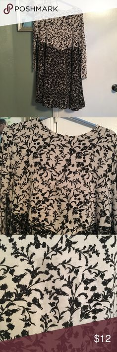 Two tone Floral Dress Used condition. Some piling and stains as pictured. With the right love it could have much more life to it. ASOS Curve Dresses