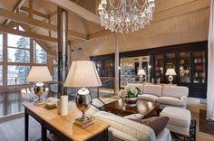 Exclusive elegance in a beautiful setting. Honka log home in Russia.