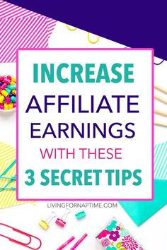 I've been doing #1 in my blog posts for a while and it has DEFINITELY helped increase earnings!