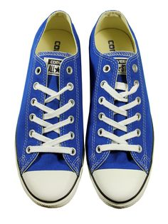 5a5408775185 Converse Chuck Taylor All Star Lean Ox Blue Trainers