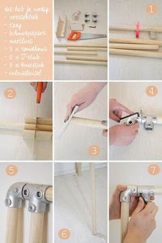 DIY: kledingrek in 15 minuten