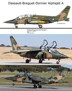 Dassault-Dornier Alphajet A - Portuguese Air Force Air Force Aircraft, Fighter Aircraft, Fighter Jets, Lancaster Bomber, War Thunder, Naval, Military Aircraft, Portuguese, Wwii