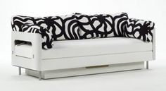 Pedro On-vuodesohva, sofa bed Take A Seat, Love Seat, Sofa Bed, Couch, Ecology Design, Scandinavian Style, Furniture Design, New Homes, Storage