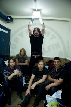 i usually only like my men straight-laced. dave grohl is my one exception