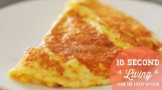 How to Make an Omelette // 10 Second Living