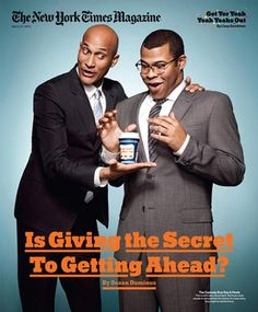 thesmithian: Key and Peele on the cover of New York Times Magazine.