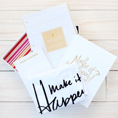 The Make it Happen Collection Box