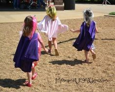 Princess and Knights party princess capes