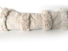 Moroccan wedding pillow, Vintage Handira pillow, Berber cushion, Lumbar pillow, Morrocan fluffy cushion - Handira cushion HM11 by SunnyHomeStory on Etsy