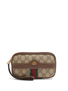 c6417212a4c1 GUCCI Ophidia GG Supreme clutch bag.  gucci  bags  canvas  clutch  shoulder  bags  suede  lining  hand bags  silk