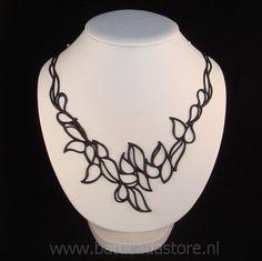 Drops - Halsketting (Zwart)