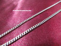 316L Surgical Steel Fancy Cut Curb Necklace