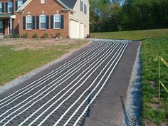 Electric heated driveways give you the flexibility to heat different parts of your driveway. View the options to heat your driveway with electric snow melting systems. Heated Driveway, Solar Panel Cost, Solar Panels, Ranch Style Homes, Radiant Heat, Outdoor Projects, My Dream Home, Windows And Doors, Old Houses