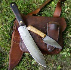My Vintage Bag, Hudson bay and Knife set up