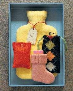 Woolen Pouches How-To