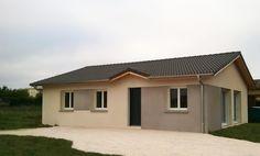 Réalisation Maisons Punch #maison #plainpied #mezzo #ain #maisonspunch #construction