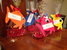 Fish theme party favors