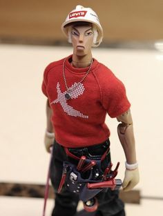 Brothers worker action figure series., by Brothers free - Seven, Levi's