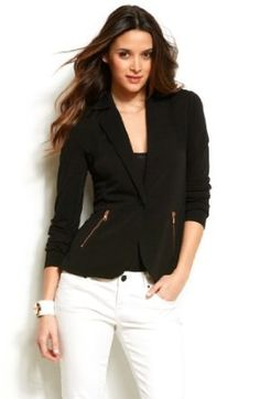 Armani Exchange Zippered Blazer A|X Armani Exchange. $88.00