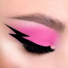Fancy Makeup, Edgy Makeup, Creative Eye Makeup, Makeup Eye Looks, Eye Makeup Art, Colorful Eye Makeup, Crazy Makeup, Cute Makeup, Makeup Inspo