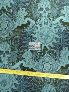 100% #Cotton Fabric By #AlexanderHenry / #Elevated / Sold By The Yard