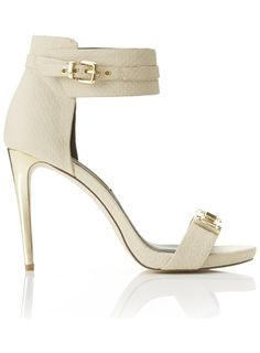 SIENNA Stone Cuff Sandals - Shoes- Miss Selfridge