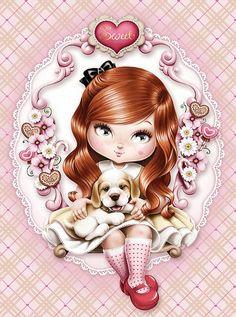 :-)fillette jolie héléne