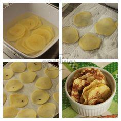 Batata Chips de Micro-ondas | Gordelícias