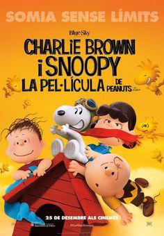"""Cinema en català: """"Charlie Brown i Snoopy. La pel·lícula"""". Estrena el 25/12/2015"""
