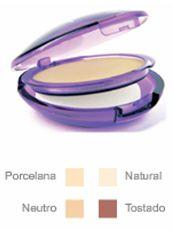 #Maquillaje polvo efecto mate color #porcelana