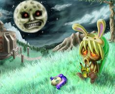 Majora's Mask -- For once the lazy pin description matched it perfectly!